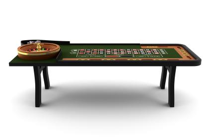 roulettebord Roulette på casino